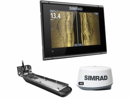 Simrad 000-14869-001 GO7 XSR w/ 3-in-1 Transducer, 3G Radar & Nav+