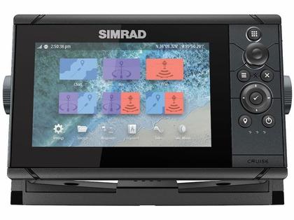 Simrad 000-14996-001 Cruise 7 US Coastal w/ 83/200 Transom Transducer