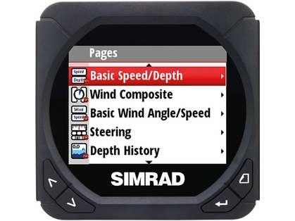 Simrad IS40 Color Digital Instrument Display