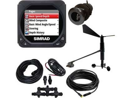 Simrad IS40 Speed/Depth/Wind Package