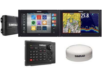 Simrad NSO evo2 Dual 16'' Multi-Touch Monitor Bundle