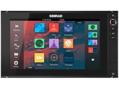 Simrad NSS16 evo2 Combo Multifunction Display w/ Insight USA
