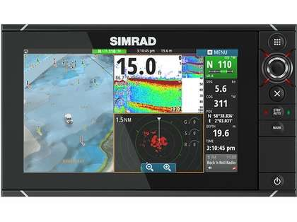 Simrad NSS9 evo2 Combo Multifunction Display w/ Insight USA