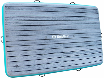 Solstice Watersports Inflatable Luxe Tract Dock - 8 ft. x 5 ft.