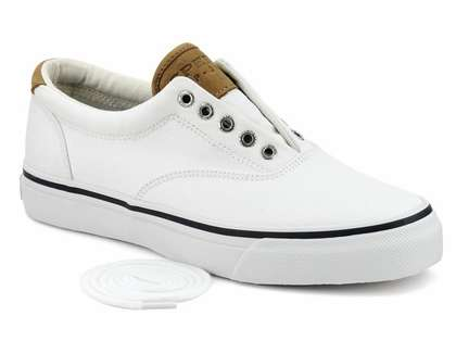 Sperry Top-Sider Men's Salt Washed Twill Striper CVO Sneakers