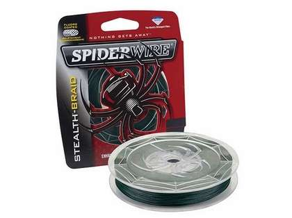 Spiderwire SCS10G-200 Stealth Moss Green Braid 200yds 10lb