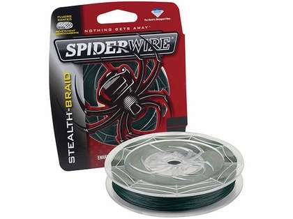 Spiderwire Stealth Braid 300yds 6lb-50lb - Moss Green