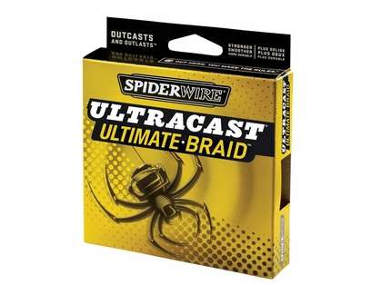Spiderwire Ultracast Ultimate Braid - 10lb - 1500yds - Lo-Vis Green