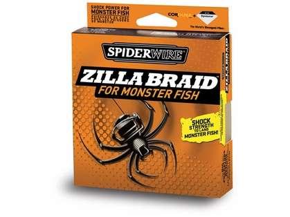 Spiderwire Zilla Braid 20lb-50lb 125yd Filler Spool
