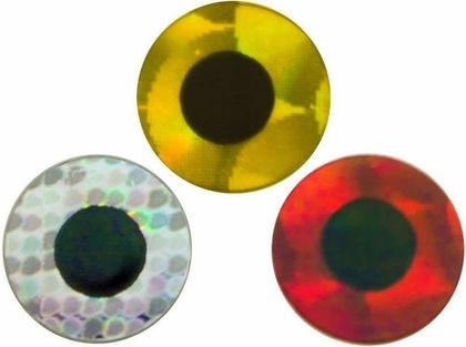 Spirit River Prismatic Tape Eyes Red - 1/8in