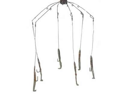 Sportfish Products SFP-ER6 6 Arm Eel Umbrella Rig