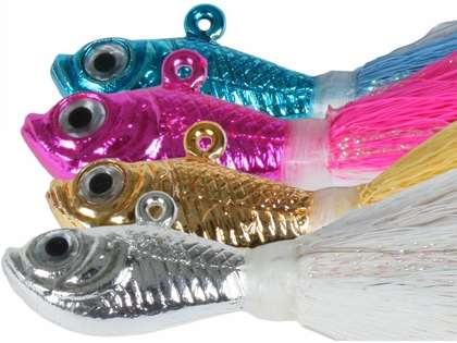 SPRO Chrome Bucktail Jigs