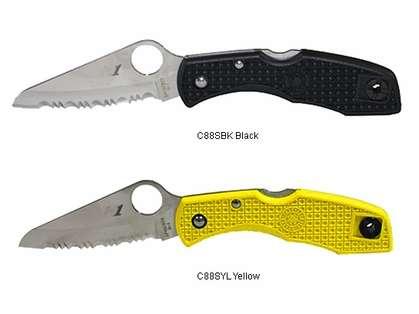 Spyderco FRN H-1 Spyderedge Knives