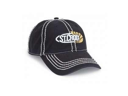 St. Croix CSTCB Black Logo Cap