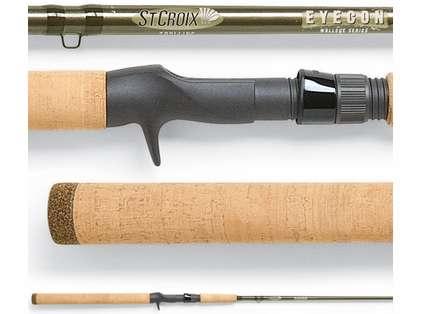 St. Croix ECT106MHM2 Eyecon Trolling Rod