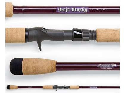 St Croix MM76MHF Mojo Musky Rod