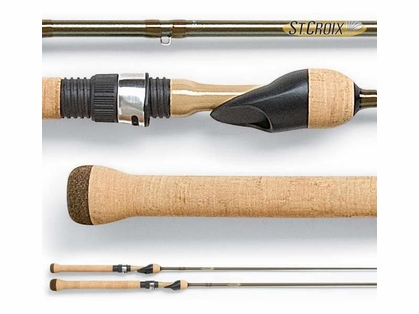 St. Croix PFS54ULF Panfish Series Spinning Rod