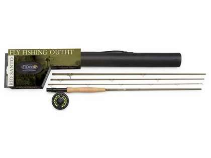 St Croix RSK865.4 Rio Santo Fly Fishing Outfits