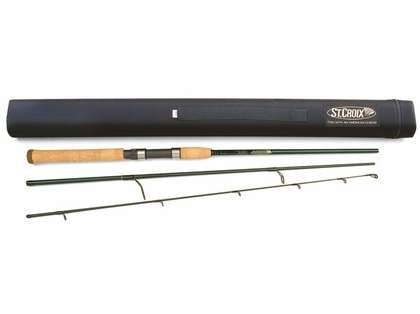 St. Croix TIS70MF3 Tidemaster Inshore Spinning Travel Rod