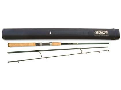 St. Croix TIS76MF3 Tidemaster Inshore Spinning Travel Rod