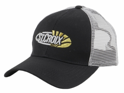 St. Croix Trucker Mesh Hat - Black