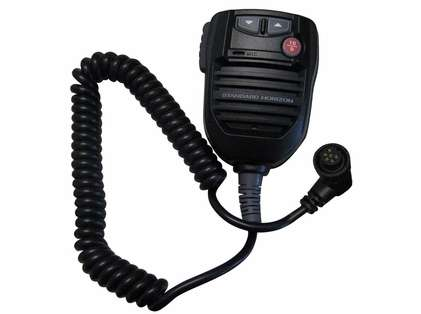 Standard Horizon Replacement VHF MIC for GX5500S & GX5500SM - Black
