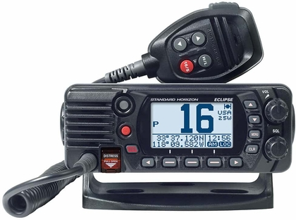 Standard Horizon GX1400GB Fixed Mount VHF w/ GPS - Black