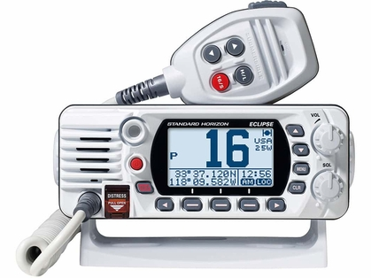 Standard Horizon GX1400GW Fixed Mount VHF w/ GPS - White