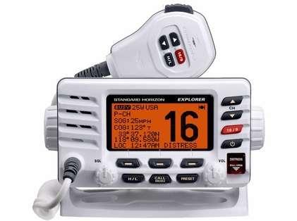 Standard Horizon GX1600W Explorer Ultra Compact VHF - White