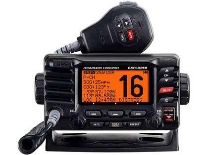 Standard Horizon GX1700B Explorer GPS Fixed Mount VHF - Black