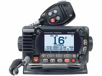 Standard Horizon GX1800GB Fixed Mount VHF w/ GPS - Black