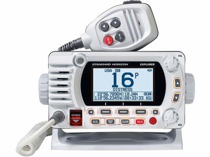 Standard Horizon GX1800GW Fixed Mount VHF w/ GPS - White