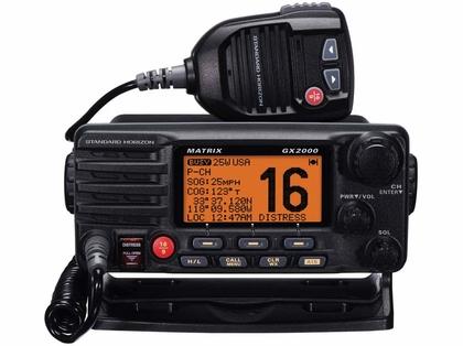 Standard Horizon GX2000 Matrix VHF w/ Optional AIS Input 30W PA
