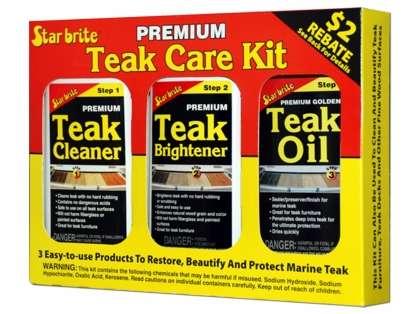 Star Brite Premium Teak Care Kit - 16 oz.