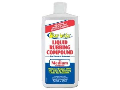 Star Brite Liquid Rubbing Compound For Medium Oxidation - 16 oz.