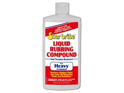 Star Brite Liquid Rubbing Compound For Heavy Oxidation - 16 oz.