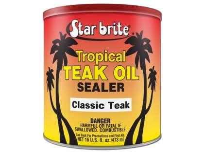Star Brite Tropical Teak Oil/Sealer - Classic - 16 oz.