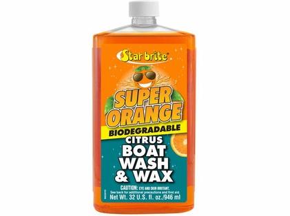 Star Brite Super Orange Citrus Boat Wash & Wax - Qt