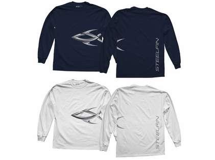 Steelfin Long Sleeve Logo Shirts