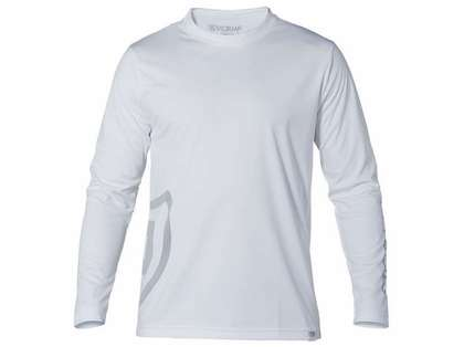 Stormr RW115M-00 Mens Long Sleeve UV Shield Shirt White - X-Large