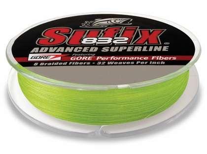 Sufix 832 Advanced Superline 660-365L Neon Lime 65lb 1200yds