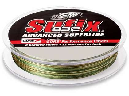 Sufix 832 Advanced Superline 660-206CA Camo 6lb 600yds