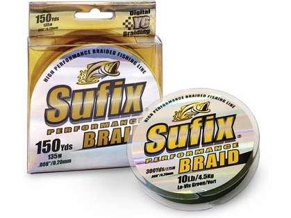 Sufix Performance Braid - 150 yds Spools