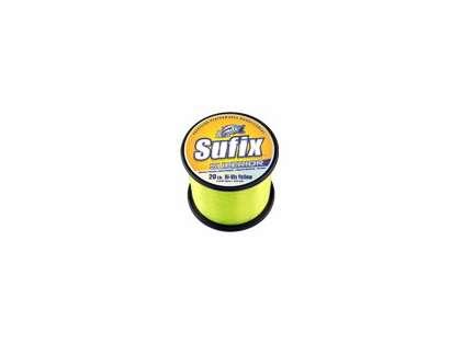 Sufix Superior 1/4lb Spool Hi-Vis Yellow