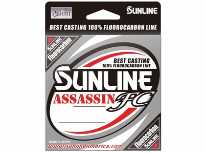 Sunline Assassin FC Fluorocarbon Line