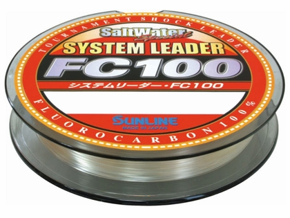 Sunline FC 100 Fluorocarbon System Leader - 70lb