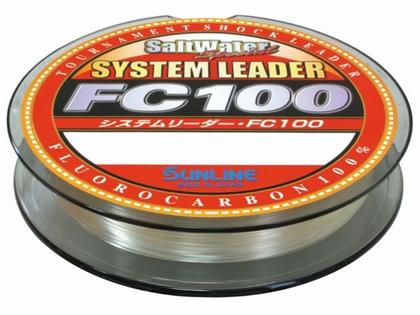 Sunline FC 100 Fluorocarbon System Leader - 80lb
