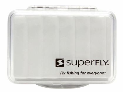 Superfly Clear Ripple Fly Box