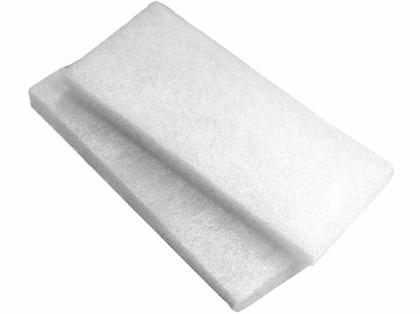 Swobbit SW55220 Fine Scrub Pads - 2-Pack - White