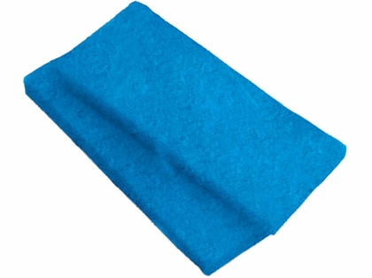 Swobbit SW55230 Medium Scrub Pads - 2-Pack - Blue